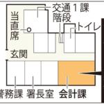 [やっぱり]広島中央署盗難  消えた8572万円「公費で弁済かも」[裏金化が目的か?]